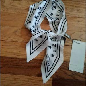 Alexzander McQueen neck tie